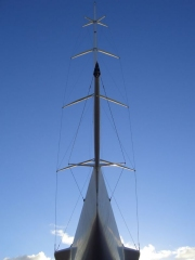Composite solutions for Americas Cup yacht